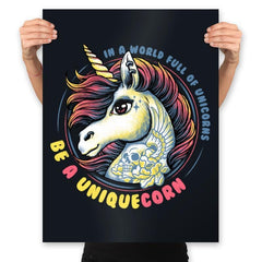 Uniquecorn - Prints - Posters - RIPT Apparel