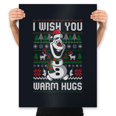 Warm Hugs! - Prints - Posters - RIPT Apparel