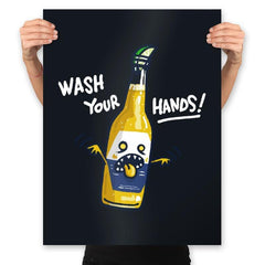 Wash Your Hands - Prints - Posters - RIPT Apparel