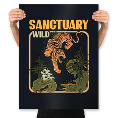 Wild Sanctuary - Prints - Posters - RIPT Apparel