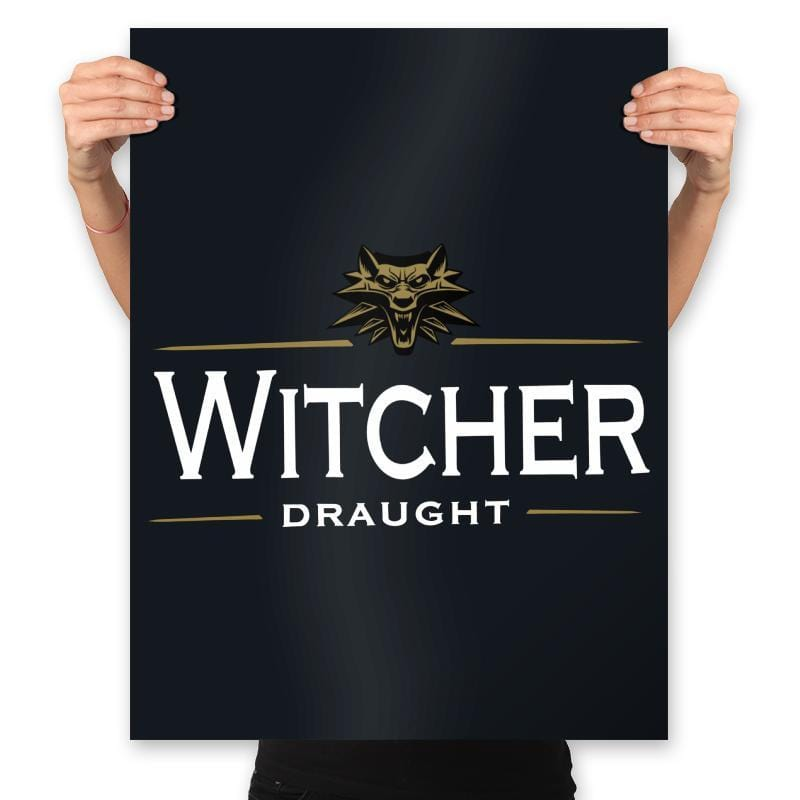 Witcher Draught - Prints - Posters - RIPT Apparel