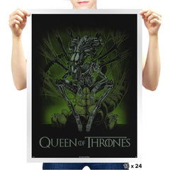 Queen of Thrones Exclusive - Prints - Posters - RIPT Apparel
