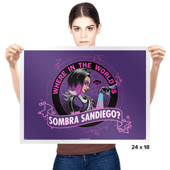 Where in the World is Sombra Sandiego? Exclusive - Prints - Posters - RIPT Apparel