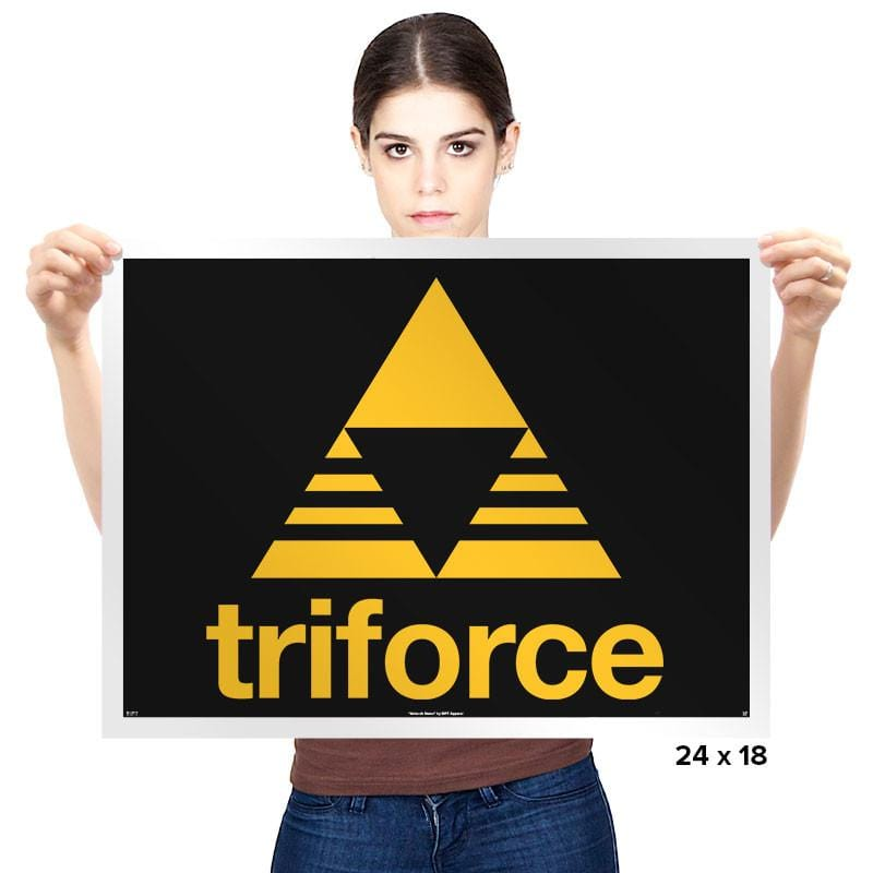 Stripe-Force Exclusive - Prints - Posters - RIPT Apparel