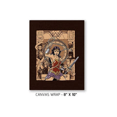 Raider of the Lost Amazon Exclusive - Canvas Wraps - Canvas Wraps - RIPT Apparel