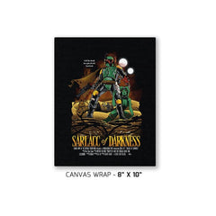 Sarlacc of Darkness Exclusive - Canvas Wraps - Canvas Wraps - RIPT Apparel