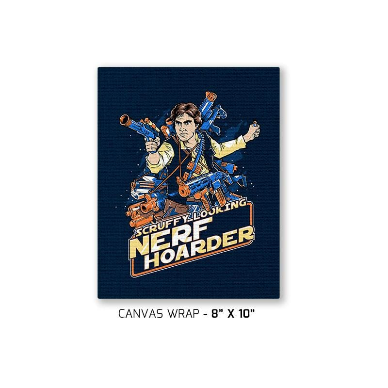 Scruffy Looking Nerf Hoarder Exclusive - Canvas Wraps - Canvas Wraps - RIPT Apparel