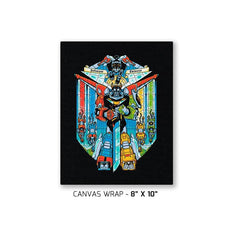 Stained Glass Defender Exclusive - Canvas Wraps - Canvas Wraps - RIPT Apparel