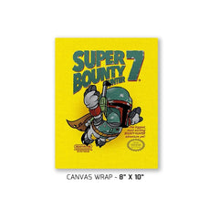 Super Bounty Hunter 7 Exclusive - Canvas Wraps - Canvas Wraps - RIPT Apparel