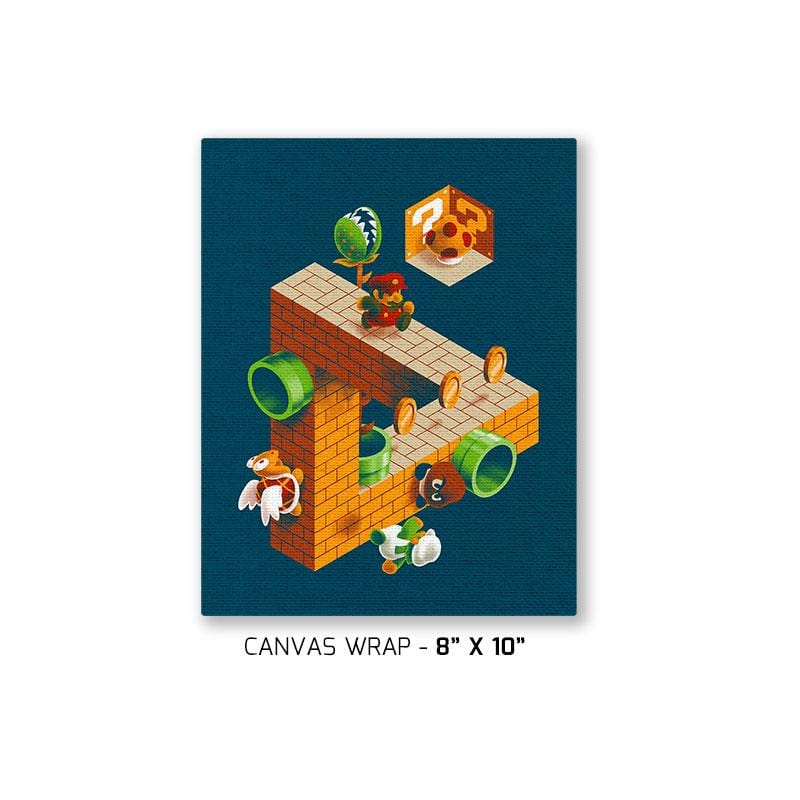 Super Impossible Bros. Exclusive - Canvas Wraps - Canvas Wraps - RIPT Apparel