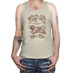 The Smuggler's Map - Tanktop - Tanktop - RIPT Apparel