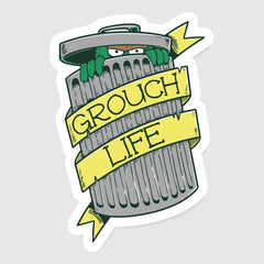 The Grouch Life Exclusive - Sticker - Stickers - RIPT Apparel
