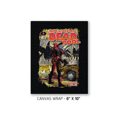 The Walking Merc - Issue 1 Exclusive - Canvas Wraps - Canvas Wraps - RIPT Apparel