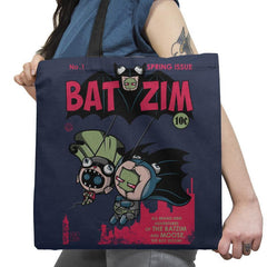 BatZim Exclusive - 90s Kid - Tote Bag - Tote Bag - RIPT Apparel