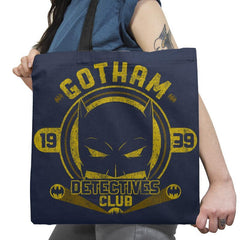 Detective's Club Exclusive - Tote Bag - Tote Bag - RIPT Apparel