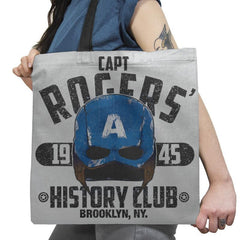 History Club Exclusive - Tote Bag - Tote Bag - RIPT Apparel
