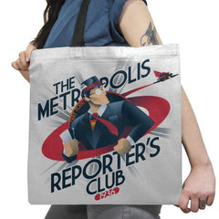 Metropolis Reporter's Club Exclusive - Tote Bag - Tote Bag - RIPT Apparel