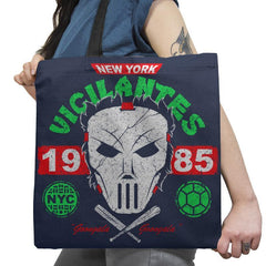 NYC Vigilantes Exclusive - Tote Bag - Tote Bag - RIPT Apparel