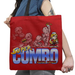 Super Combo With Fries Exclusive - Tote Bag - Tote Bag - RIPT Apparel