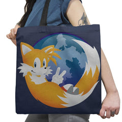 Tailsfox - 90s Kid - Tote Bag - Tote Bag - RIPT Apparel