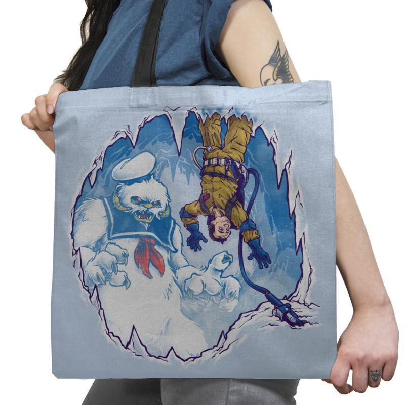 The Wampuft Marshmallow Man Exclusive - Tote Bag - Tote Bag - RIPT Apparel