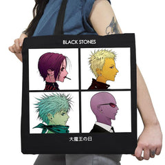 Demon Lord Days Exclusive - Anime History Lesson - Tote Bag - Tote Bag - RIPT Apparel