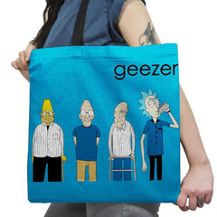 Geezer Exclusive - Tote Bag - Tote Bag - RIPT Apparel