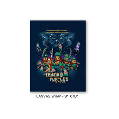 The Trans-Dimensional Turtles Exclusive - Canvas Wraps - Canvas Wraps - RIPT Apparel