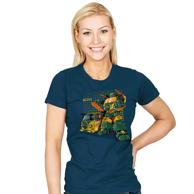 Turtlehide Exclusive - Womens - T-Shirts - RIPT Apparel