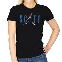 Air Scott - Womens - T-Shirts - RIPT Apparel