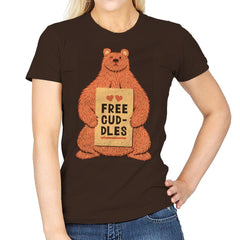 Free Cuddles - Womens - T-Shirts - RIPT Apparel