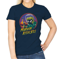 Marvin Attacks! - Womens - T-Shirts - RIPT Apparel