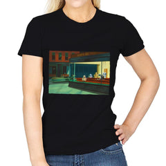 NightDroids - Womens - T-Shirts - RIPT Apparel
