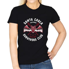 Santa Carla Survivors Club - Womens - T-Shirts - RIPT Apparel