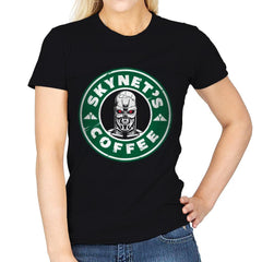 Skynet's Coffee - Womens - T-Shirts - RIPT Apparel