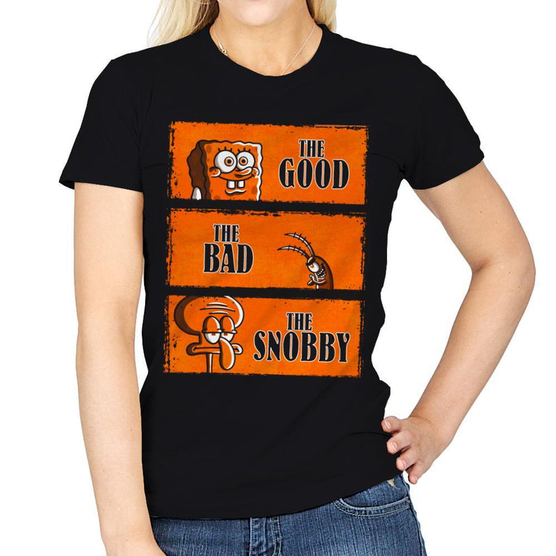 The Good, The Bad and The Snobby - Womens - T-Shirts - RIPT Apparel