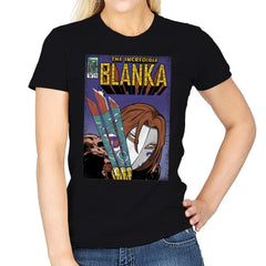 The Incredible Blanka! - Womens - T-Shirts - RIPT Apparel