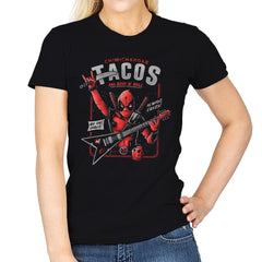 The Mercenary Rockstar - Womens - T-Shirts - RIPT Apparel