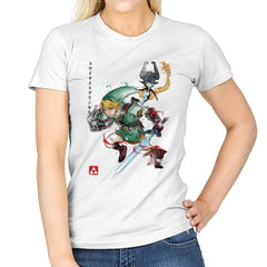 Twilight Princess Watercolor - Womens - T-Shirts - RIPT Apparel