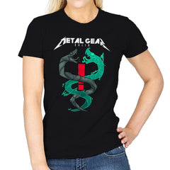 Twin Snakes - Womens - T-Shirts - RIPT Apparel