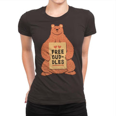Free Cuddles - Womens Premium - T-Shirts - RIPT Apparel