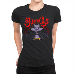 Gargoyle Metal - Womens Premium - T-Shirts - RIPT Apparel