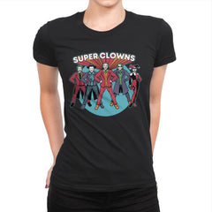 Super Clowns - Womens Premium - T-Shirts - RIPT Apparel