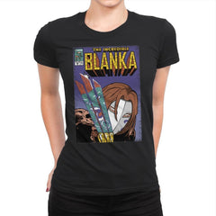The Incredible Blanka! - Womens Premium - T-Shirts - RIPT Apparel