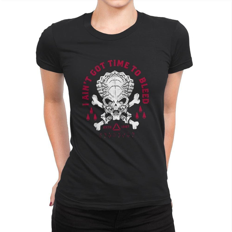 Time to Bleed - Womens Premium - T-Shirts - RIPT Apparel