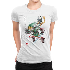 Twilight Princess Watercolor - Womens Premium - T-Shirts - RIPT Apparel