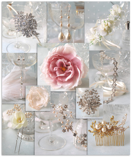 Wholesale wedding jewellery bridal headdresses, wedding hair pins, bridal hair combs, wedding hair vines