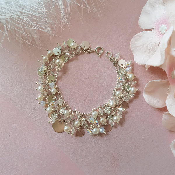Silver Wedding Bracelet | A Kind of Magic by Susie Warner Bridal Jewellery