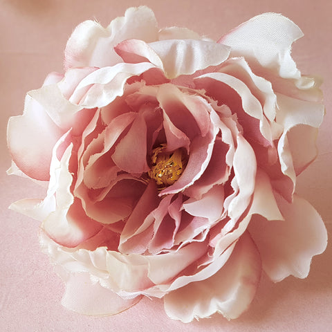 Blushing Beauty Vintage Rose Wedding Hair Flower