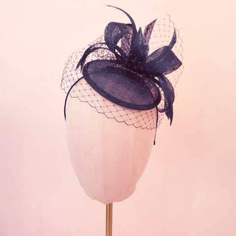 Navy Wedding Fascinator | Susie Warner